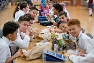 catholic school lunch