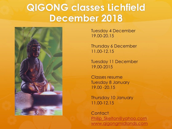 December 2018 classes
