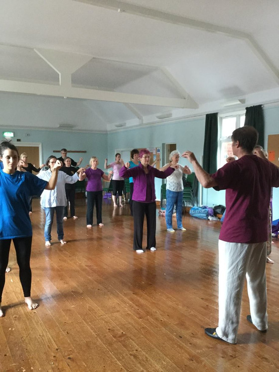 Qigong classes commence 15 March 2018
