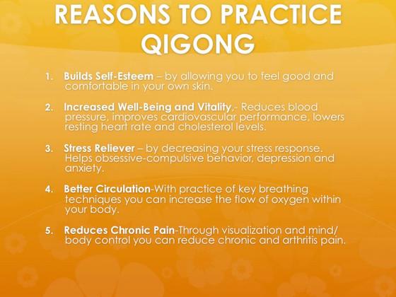 The benefits of Qigong