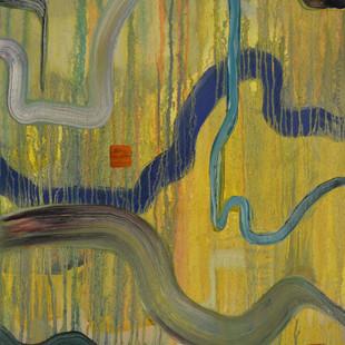Untitled IX, 51 x 60 x 4.5 cm, Oil on canvas