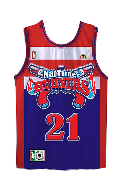 Nat Turner Burners jersey kids