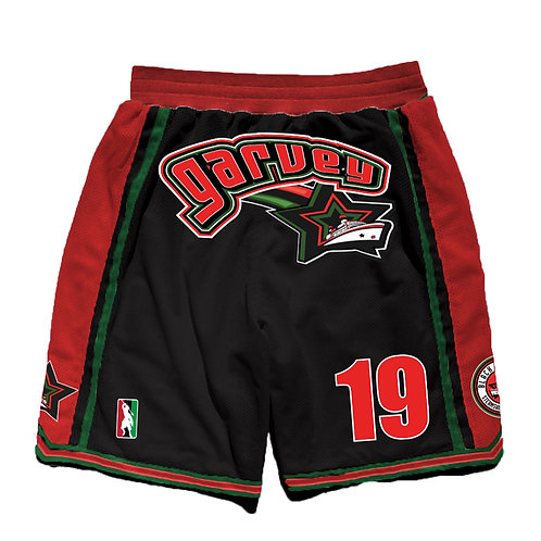 Garvey BlackStars shorts kids
