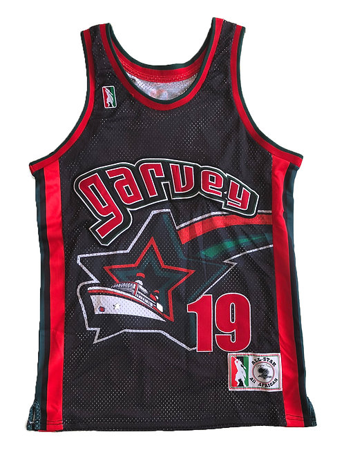 Garvey Black Stars Basketball Jersey V2