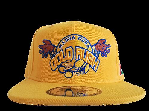 Mansa Musa Gold Rush Snap-Back Cap