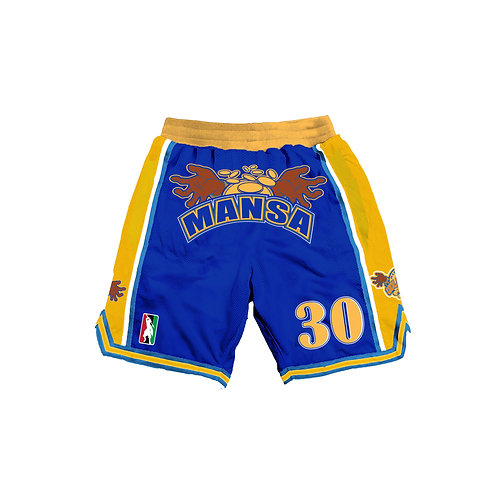 Mansa Musa Goldrush shorts kids