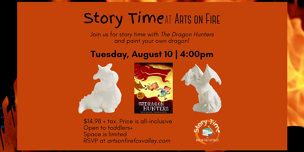 """Story Time """"The Dragon Hunters"""""""