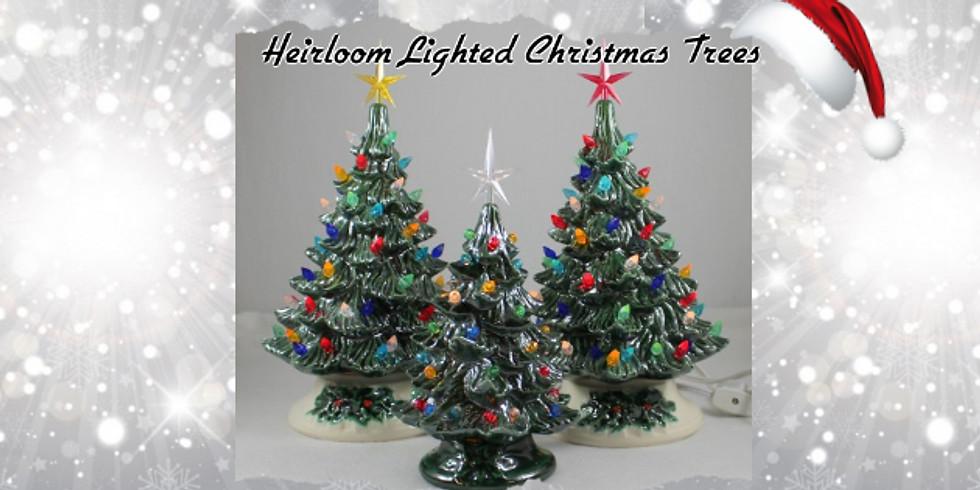 Heirloom Christmas Tree Painting Workshop