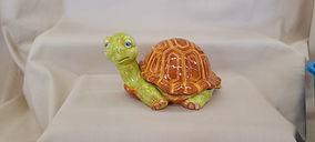 Ceramic Glazed Turtle
