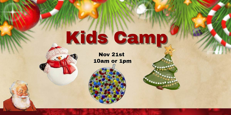 Kids Camp Holiday Ornaments