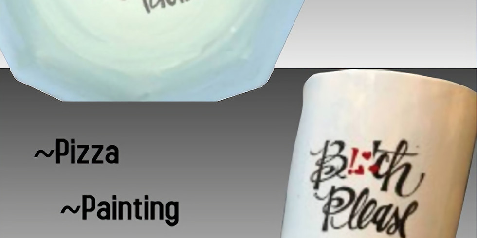 Potty Mouth Pottery Painting