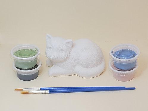 Nice Kitty Pottery to Go Kit