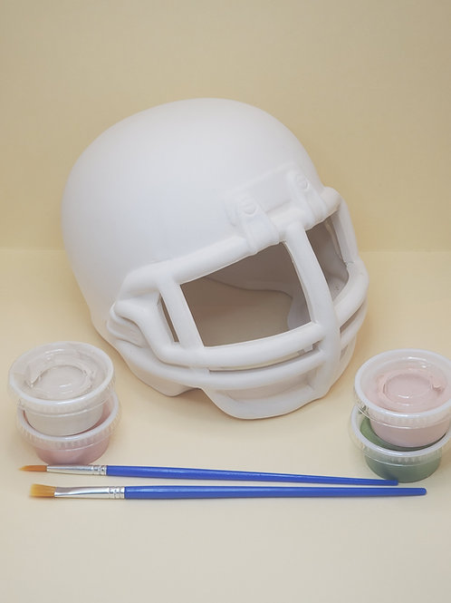 Football Helmet Pottery To Go Kit