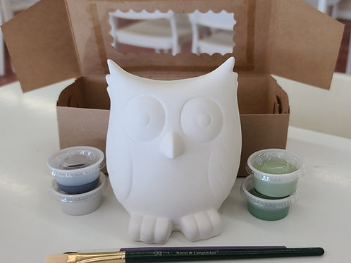 Owl Bank Pottery to Go Kit