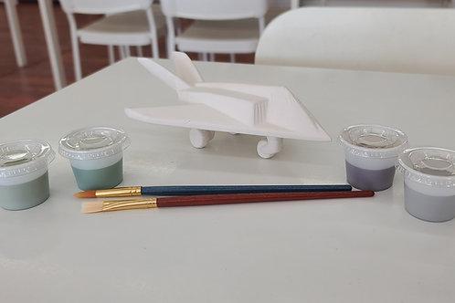 Jet Plane Pottery to Go Kit