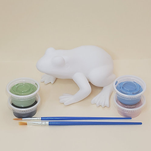 Frog Pottery to Go Kit
