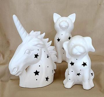 Ceramic Bisque Light-ups
