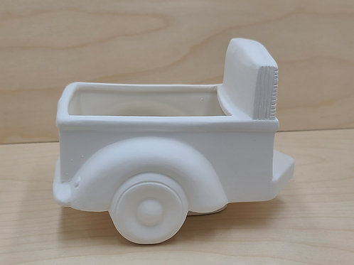 Pickup Truck Trailer Pottery to Go