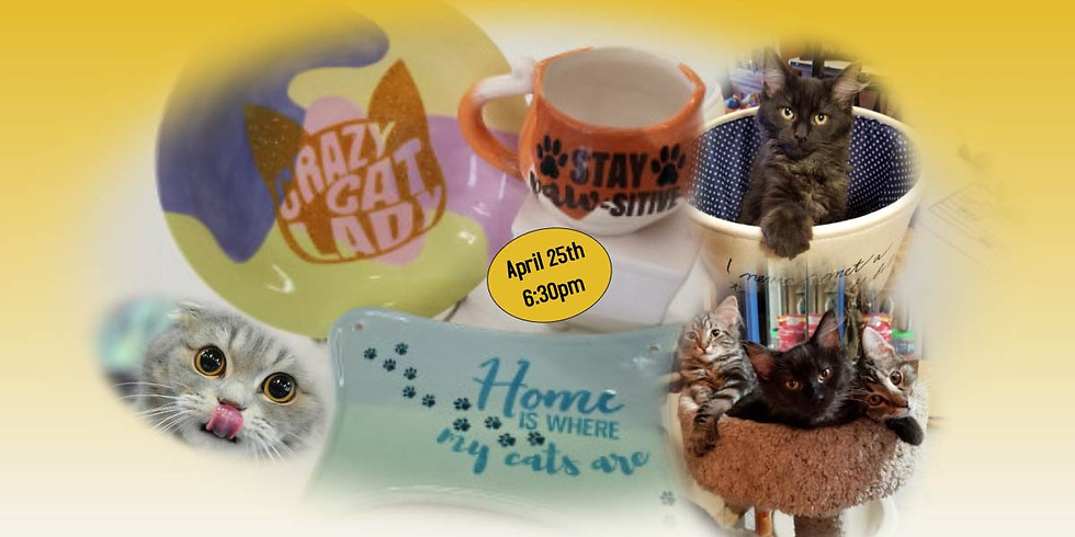 Crazy Cat Lady Paint Night(Sold Out)