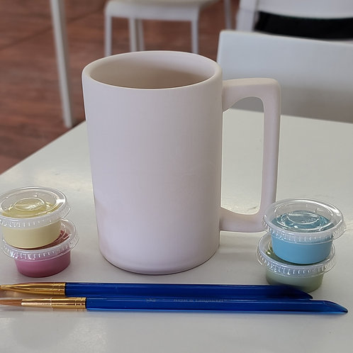Tot Handle Mug Pottery to Go Kit