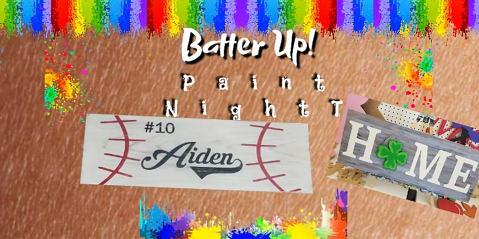 Batter Up!  Paint Night