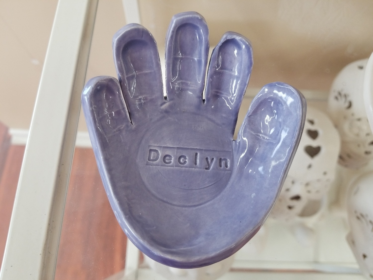Clay Impression Hand Personalized