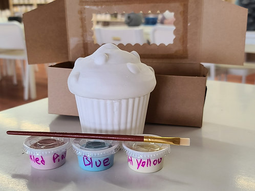 Cupcake Box Pottery to Go Kit
