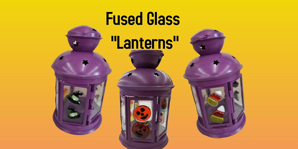 Fused Glass Lanterns 9/14