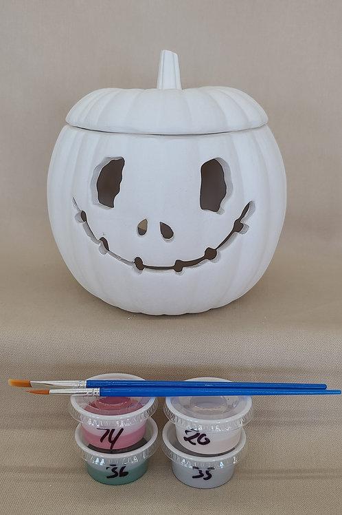 Lighted Jack Pumpkin Pottery to Go Kit