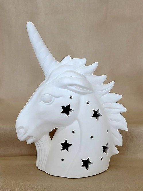 "Unicorn ""Bust/Statue/Decor"" LIGHT-UP"