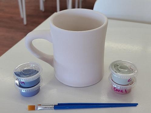 Dinner Mug Pottery to Go Kit