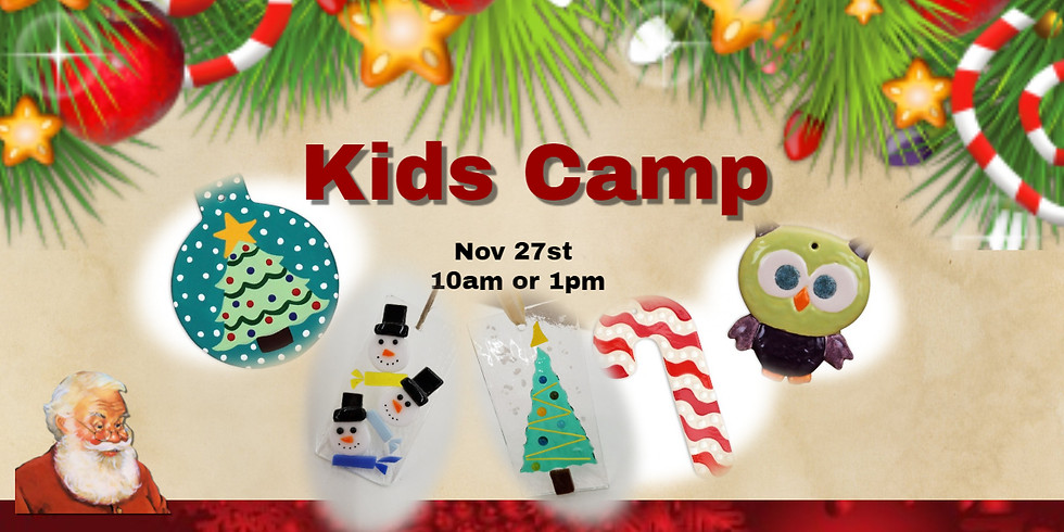 Kids Christmas Ornament Camp
