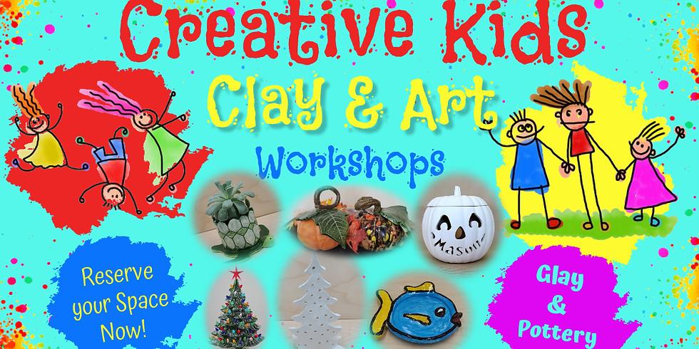 Creative Kids Clay & Art Summer 2021