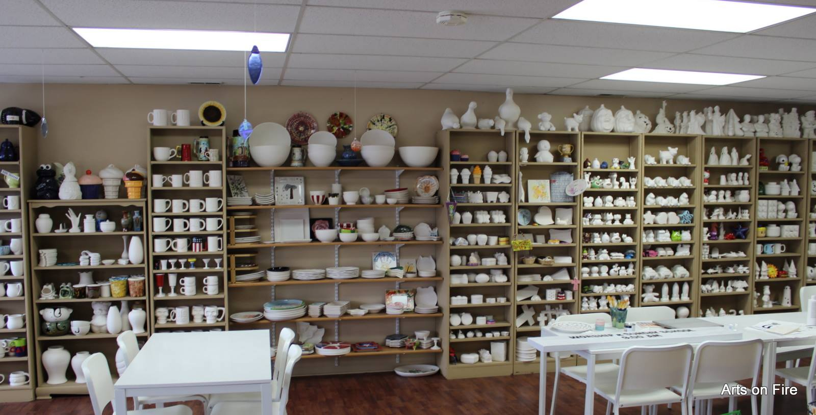 Arts on Fire Plano, IL Studio