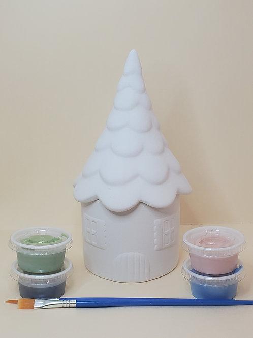 Fairy House Box Pottery to Go Kit