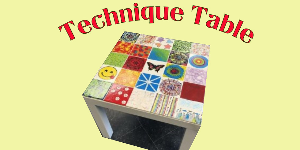 """Kids Camp """"Technique Table"""""""