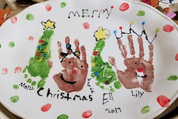 Hands and Feet for Christmas