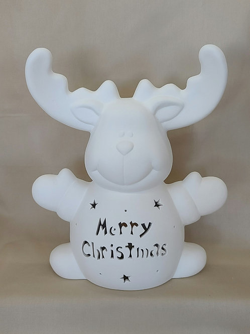 Personalized Light-up Reindeer