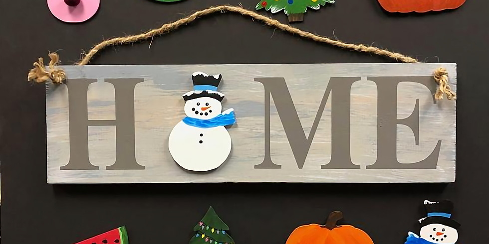 All Seasons Home Sign  Sold Out