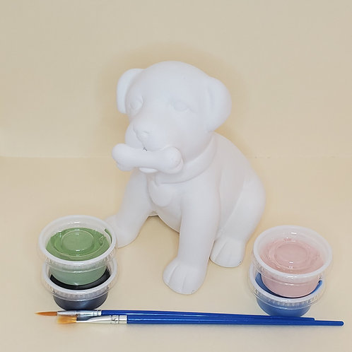 Puppy Love Pottery to Go Kit