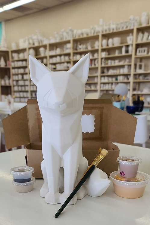 Faceted Fox Pottery to Go Kit