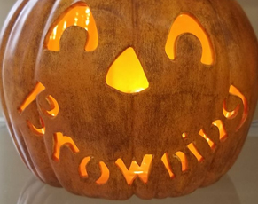 Custom Halloween Pumpkin