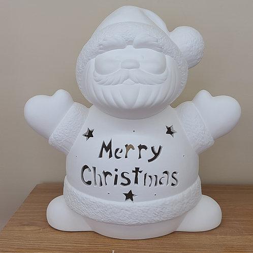 Custom Light-up Santa