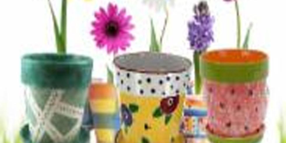 Kidz Night Out - Flower Pots