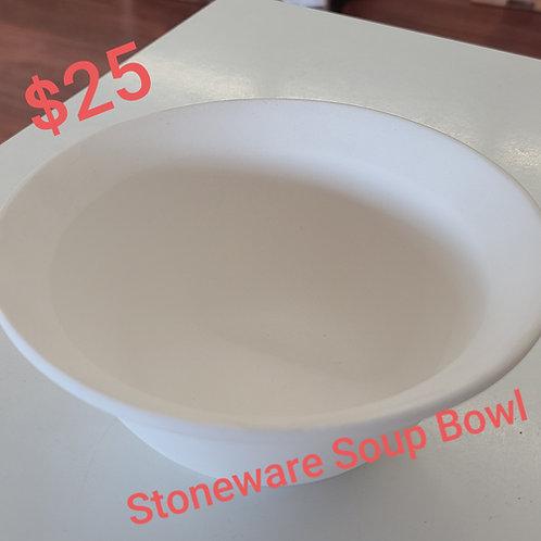 Stoneware Soup Bowl Pottery to Go Kit