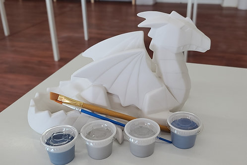 Faceted Dragon Pottery to Go Kit
