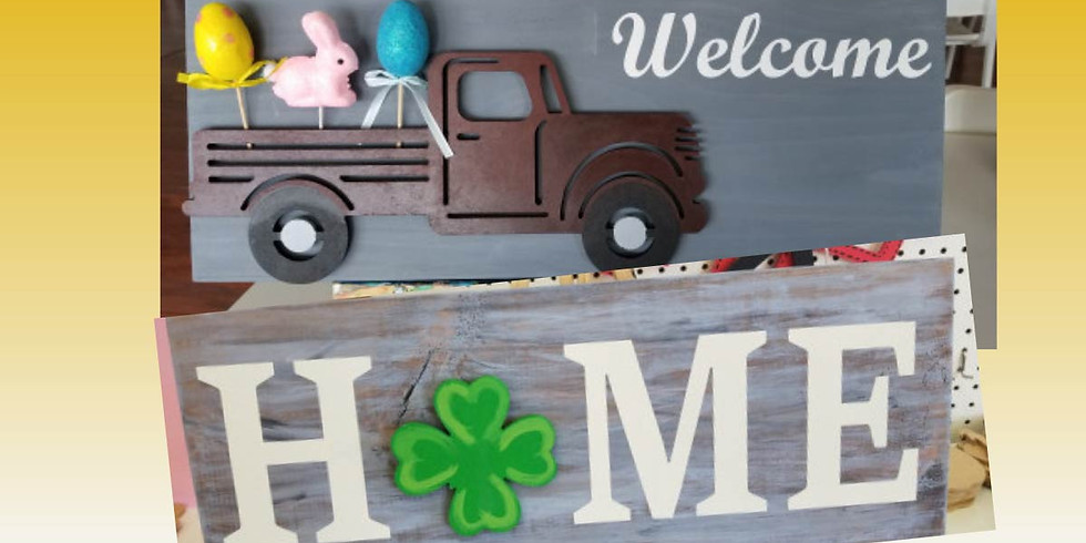 All Seasons Home/Truck Sign  4/14