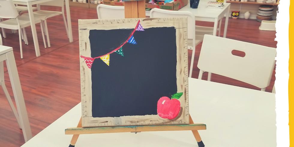 "Summer Art Camp ""Back to School"""