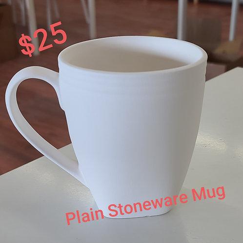 Stoneware Contemporary Mug Pottery to Go Kit