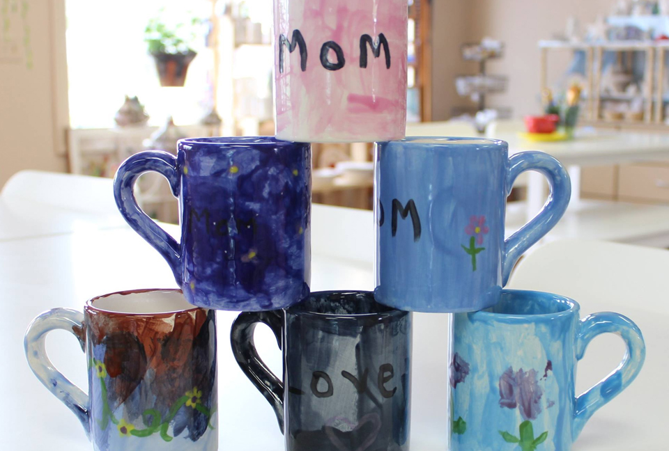 Mother's Day Pottery